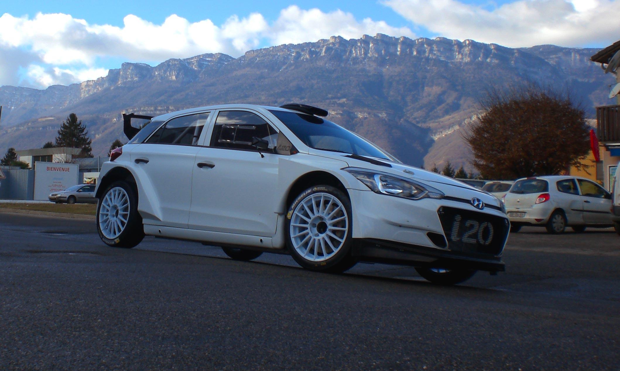 Hyundai i20 rallye compétition location sport route