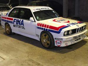 BMW M3 E30 VH rallye compétition location sport garage